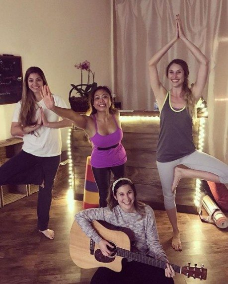 Brentwood Yoga Class with Live Music