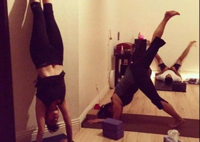 Handstands @ Our Brentwood Yoga Studio
